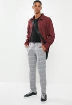 Selected Homme - Nik slim fit check pants - multi