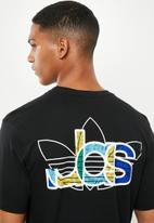 adidas Originals - Adi trefoil tee - black