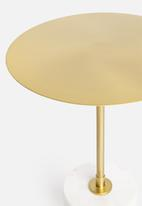 SF Collection - Lyanna side table - gold