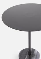 Sixth Floor - Lyanna side table - black
