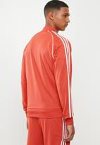 adidas Originals - Sst track top - red