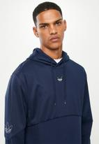 adidas Originals - Outline hoody - blue