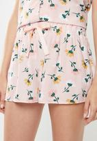 Superbalist - Sleep cami & shorts set - multi