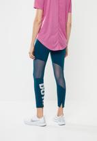 Nike - Nike 7/8 speed tight -  blue