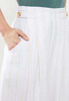 Cotton On - Luna button culotte - cream & yellow