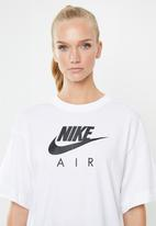 Nike - Nsw air top - white