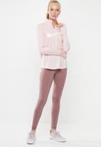 Nike - Nike swoosh midlayer running top - pink