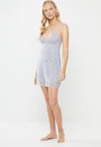 Cotton On - Slinky nightie - blue