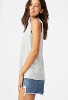 Cotton On - The heritage muscle tank top - grey