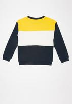 name it - Vance long sleeve sweat - multi