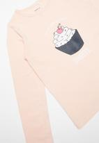 name it - Cupcake pyjama - pink & navy