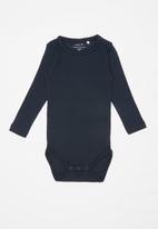 name it - Vitte long sleeve bodysuit - navy