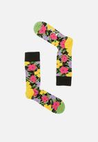 Happy Socks - Andy Warhol flower sock - multi