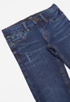 name it - Pilou denim tandence pants - dark blue