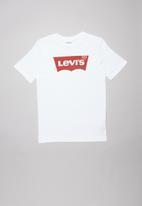 Levi's® - Levi boys batwing graphic tee - white