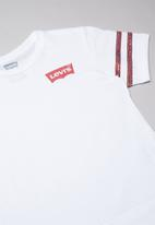 Levi's® - Levi's short sleeve sequin pieced top - white