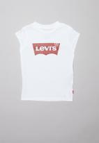 Levi's® - Levi's girls short sleeve batwing tee - white