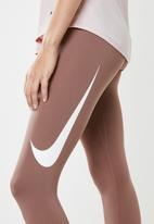 Nike - Nike swoosh 7/8 running tights - neutral