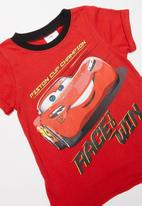 POP CANDY - Boys cars tee - red
