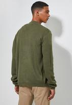 Superbalist - Lightweight buttonless cardi - khaki