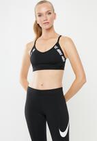 Nike - Nike indy logo bra - black