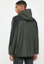 Brave Soul - Ramsberg bomber jacket - khaki & black