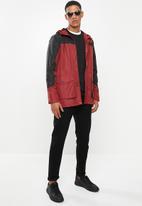 Brave Soul - Ramsberg bomber jacket - red & black