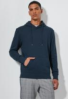 Superbalist - Basic hoodie pullover sweater - navy
