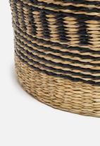 Sixth Floor - Zoya basket - black & natural