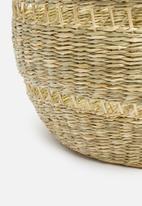 Sixth Floor - Woven storage basket - natural