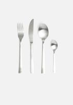 Excellent Housewares - Cutlery set 16pcs - silver