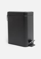 Bathroom Solutions - Bathroom 5 L pedal bin - black