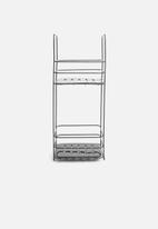 Bathroom Solutions - Standing bathroom rack - black