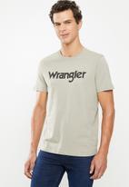 Wrangler - Kabel short sleeve tee - grey