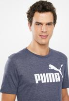 PUMA - Ess+ heather tee - navy
