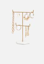 Sixth Floor - Jemila jewellery stand - gold