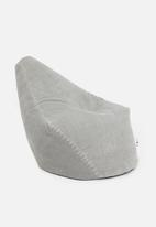 Sixth Floor - Pomona bean bag - light grey