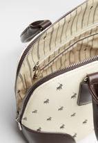 POLO - Classic dome - beige & brown
