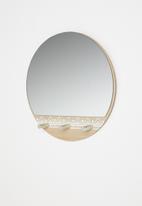 H&S - Mirror rack - natural