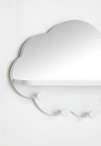 H&S - Cloud coat rack - white