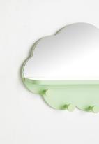H&S - Cloud coat rack - green