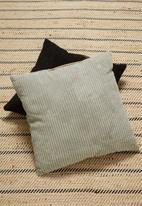 H&S - Corduroy cushion - taupe