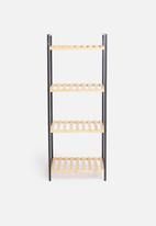 Bathroom Solutions - Bamboo bathroom rack - natural