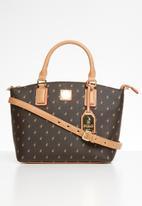 POLO - Iconic small shopper - brown