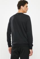 Reebok - Te linear logo crew sweater - black
