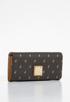 POLO - Iconic clutch purse - brown