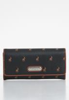 POLO - Classic clutch purse - black