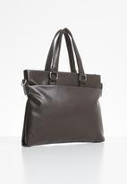 Superbalist - Cooper satchel- brown