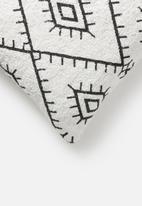 Sixth Floor - Harmony tufted cushion cover - white
