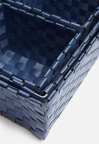 H&S - Kids storage basket set of 4 - blue